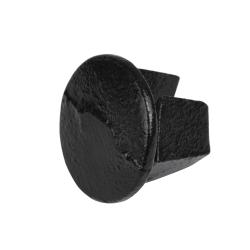 Bouchon en acier noir