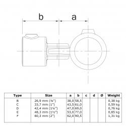 Articulation 2 tubes