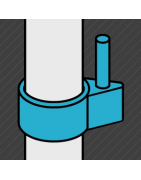 Raccord de type charnière permettant l'articulation d'une structure