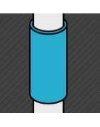 Raccord noir de type manchon permettant la prolongation d'un tube